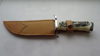 Охотничьий нож Solingen (дамаск).