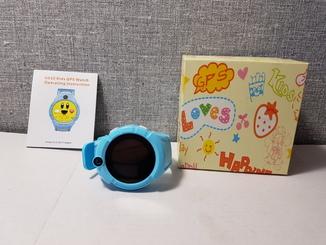 Детские телефон часы с GPS трекером Q360 Blue