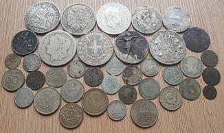 Лот Серебрянных Монет 282,5г