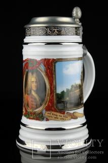 Коллекционная пивная кружка. Freiberger Porzellan. Германия. (0448)