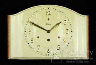 Настенные механические часы Junghans. 1939 год. Германия (0447)