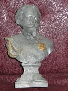 Скульптура. Король Виктор Эммануил II. Бюст