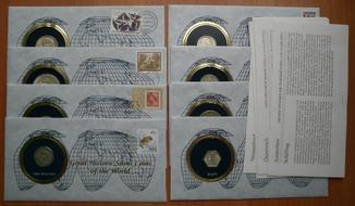 Монеты мира ( шиллинг , франк , патак , рейс )