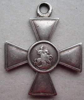 Георгиевский крест 3 ст. 49858 на полного Георгиевского кавалера