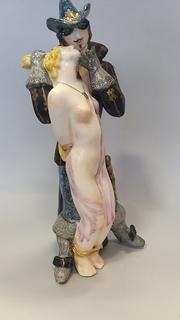 Анжелика и злодей. Подписная Щербина, роспись Антропова