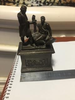 Скульптура - памятник  Минину и Пожарскому