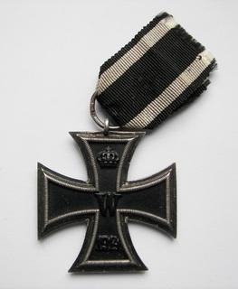Железный Крест II класса ПМВ, клеймо