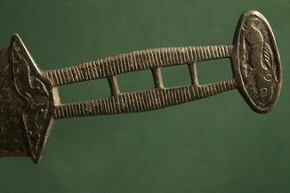 Скифский акинак в зверином стиле (тип чертомлык)