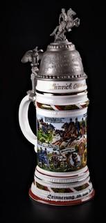 Большая пивная кружка резервиста 10 й кавалерийский полк