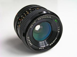 Revuenon MC 2,8/28 для Canon FD,Япония.