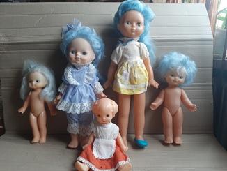 Куклы Мальвина СССР,Дзи,клеймо,родная одежда
