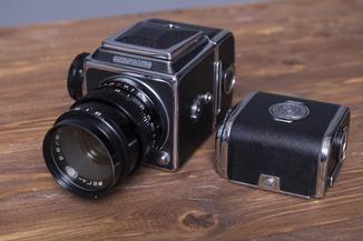 Фотоаппарат Салют - С (Объектив Вега-12В 90мм 2.8 )