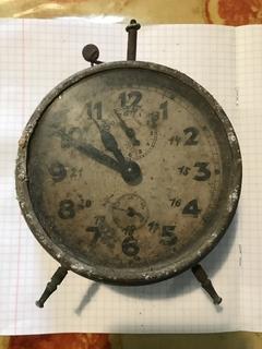 Настольные часы будильник junghans
