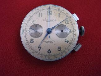 механизм от хронографа SUISSE, Швейцария