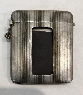 Серебряная спичечница. 41.5 грамм