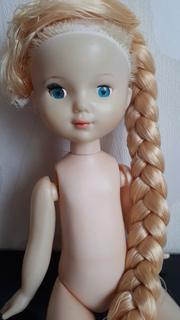 Кукла на резинках и крючках  50 см клеймо