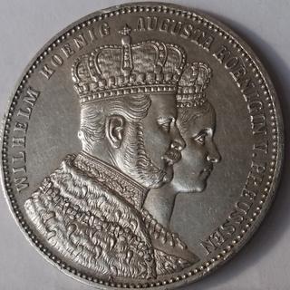 Талер 1861 год