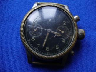 Часы старые Glashutte  хронограф в ремонт