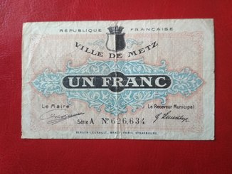 1 франк 1918