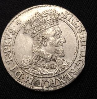 Гданский орт 1618 рік R2