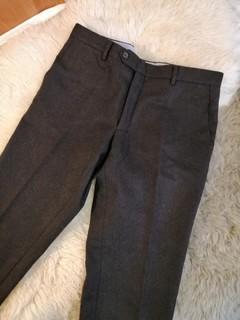 Шерстяные брюки Fusaro Gold, сделаны в Италии