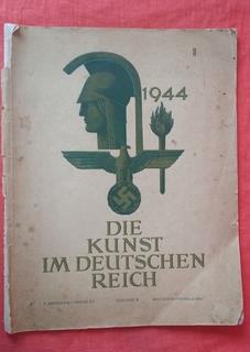 """Искусство в немецком рейхе """"Die Kunst im Deutschen Reich"""" 1944 год NSDAP"""