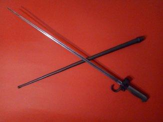 Штик зразка 1886 року до гвинтівки системи Лебеля.