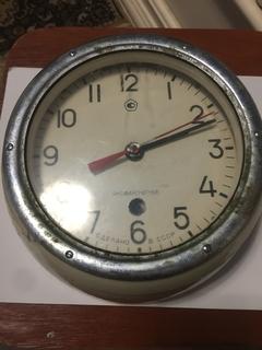 Корабельные часы СССР антимагнитные