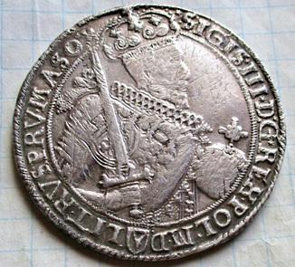 Талер Сигизмунда III 1630 года