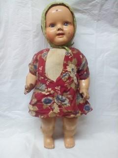 Довоенная опилочная Кукла СССР 1930 х.годов