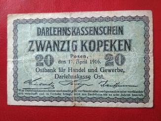 Zwanzig kopeken 1916