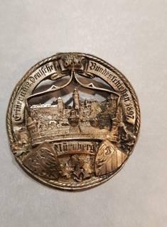 Немецкий нагрудный знак 1897 г