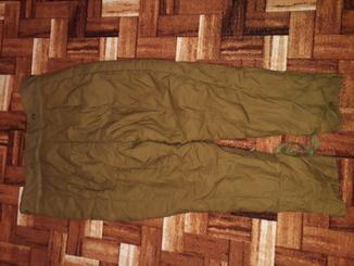Тепла підкладка штанів зимової афганки