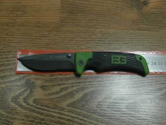 Нож складной Gerber Bear Grylls Scout 114 U4-4 /Green с сирейтером