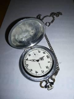 Часы Молния с птицей Тетерев