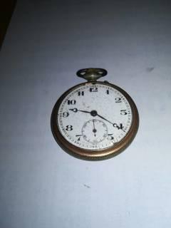 Старинные карманные Швейцарские часы