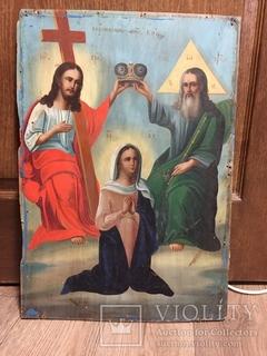 """Икона""""Коронование Пресвятой Богородицы"""""""