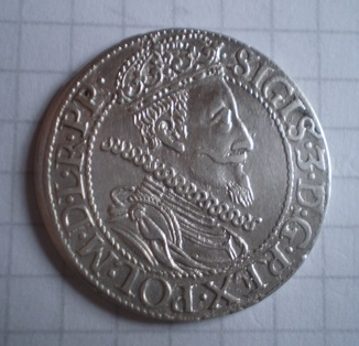 Гданьский орт 1610 года.GD10-6 по Шаталину с редкостью R5.