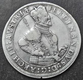 1 Талер, Тироль, Фердинанд II, эрцгерцог Австрийский (1564 – 1595)