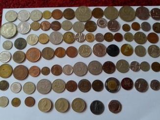 Монети разных стран европи