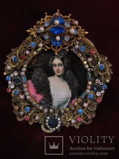 "Портрет ""Графиня Каролина фон Холнштайн (1815-1859)"", Галерея Красавиц Нимфенбург"