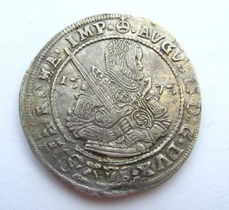 Талер 1575 р. Саксонія