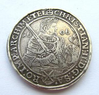 Талер 1606 р. Саксонія