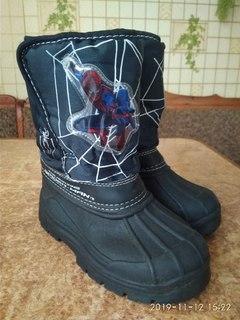 Чобітки Spider Man р.28