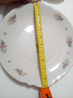 Велика тарілка з узорами