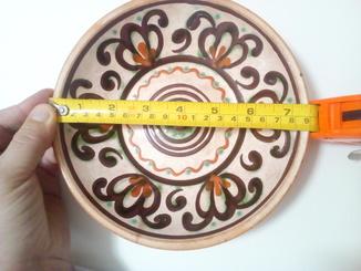 Глиняна тарілка глибока