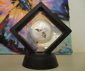 Монета Год крысы 2020 Серебро 999 пробы Австралия лунар (в рамке)