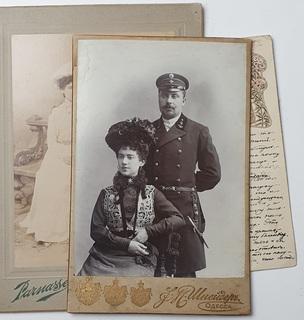 Морской офицер с супругой Императорский флот