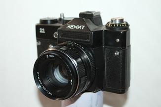 Фотоаппарат Зенит 11 + Helios-44M-4