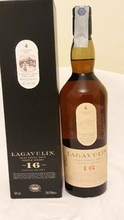Колекційне віскі Lagavulin 16 years single malt 43gr